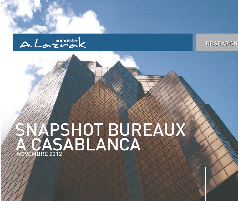Snapshot de bureaux à Casablanca – Nov 2012